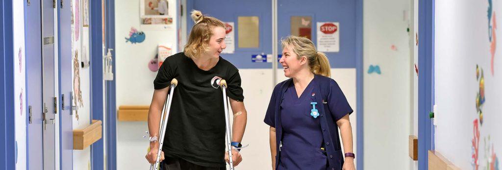Outpatient with Nurse