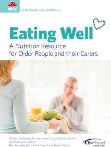 Eating Well A Nutrition Resource for Older People Cover