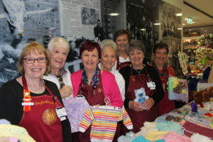 Gosford Hospital Auxiliary at one of their monthly stalls