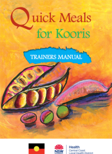 Quick Meals for Kooris - Trainers Manual cover