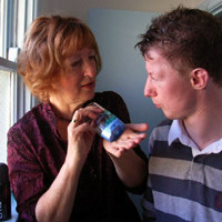 Carer in supported accommodation