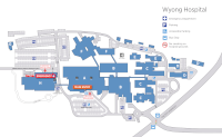 Wyong site map