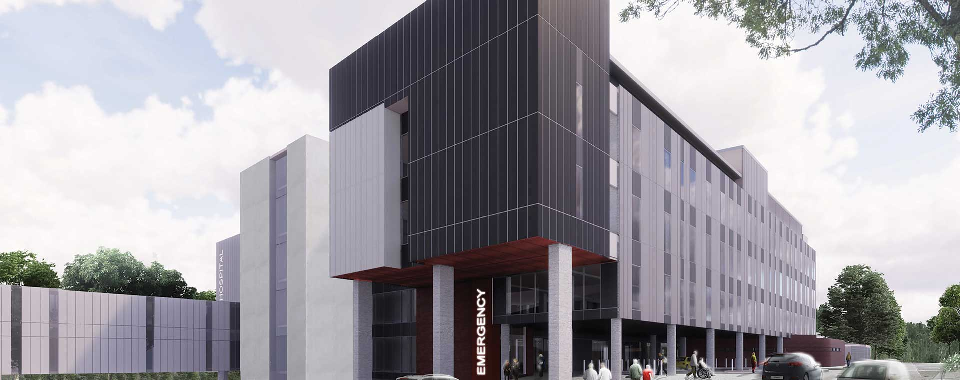 Wyong hospital redevelopment design