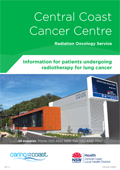 Radiotherapy for lung cancer