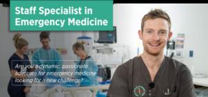 Staff Specialist Emergency Medicine
